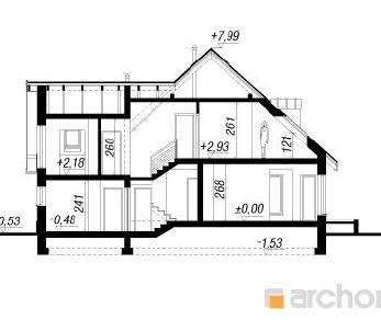Проект  Дом в тамарисках 5, 183.6 м2