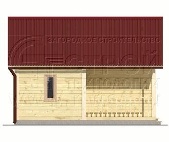 Проект бани Баня. Проект №9, 30 м2