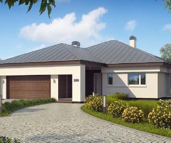 Проект дома Проект z200, 167.8 м2
