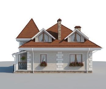 Проект дома AS-2223, 117 м2