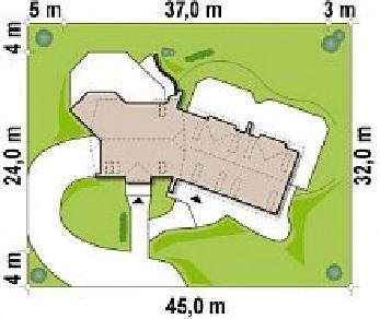 Проект дома Проект Zr2, 678.1 м2