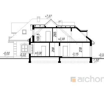 Проект  Дом в материнке, 201.9 м2