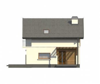 Проект дома Проект Z248, 128.6 м2