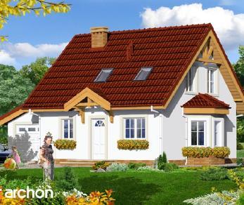 Проект  Дом в землянике 3 (Г), 110 м2