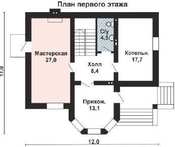 Проект дома AS-2247, 237 м2