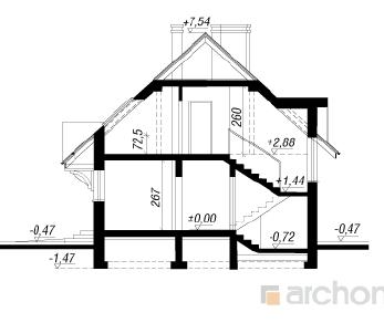 Проект  Дом под омелой, 142.3 м2