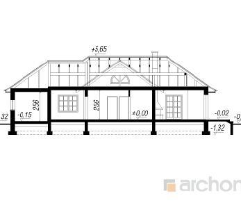 Проект  Дом в каттлеях, 115.5 м2