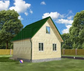 Проект дома Проект дома №37, 36 м2