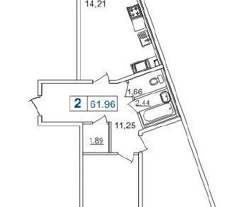 Продажа квартиры Мурино, Лаврики ш., к. 4