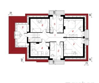 Проект  Дом в азалиях 2, 203.4 м2