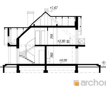 Проект  Дом в магнолиях 2 (Г2), 197.3 м2