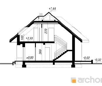 Проект  Дом в вереске (ПД), 165 м2