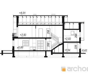 Проект  Дом в вербене 5, 179.6 м2
