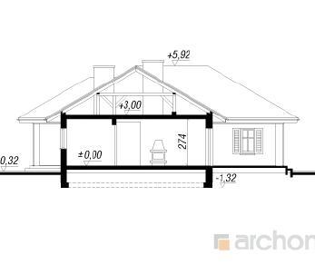 Проект  Дом в розмарине, 127.6 м2