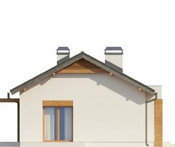 Проект дома Проект Z249, 77.1 м2