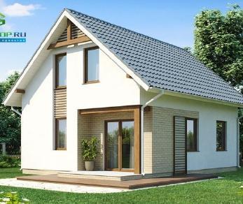 Проект дома Проект z71, 91.5 м2