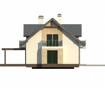 Проект дома Проект Z263, 181.2 м2