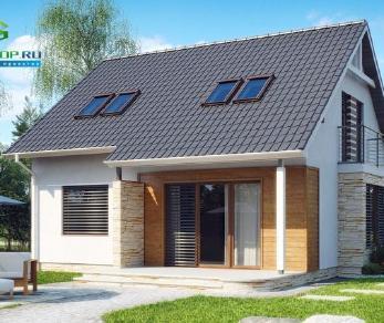 Проект дома Проект z102, 120.4 м2