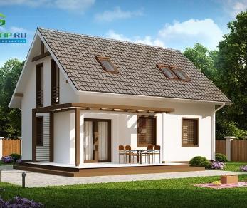 Проект дома Проект z212, 92 м2