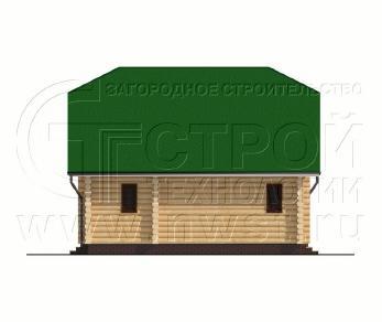Проект дома Проект дома №132 Сочи, 81 м2