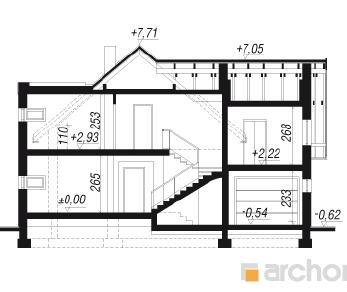 Проект  Дом в табаско, 209.8 м2