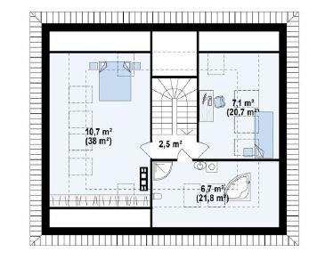 Проект дома Проект z273ph, 177.7 м2
