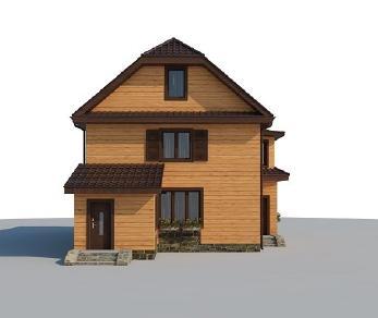 Проект дома AS-2084, 166 м2