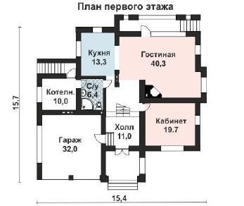 Проект дома AS-2010, 268 м2