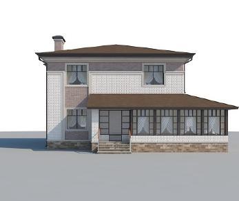 Проект дома AS-2257, 182 м2