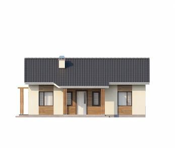 Проект дома Проект Z136, 79.6 м2