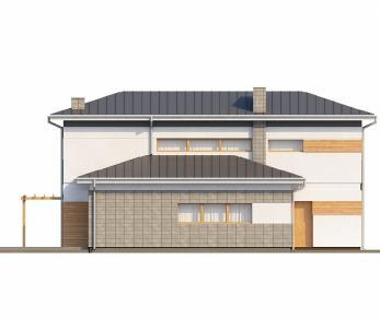 Проект дома Проект Zx25, 157.8 м2