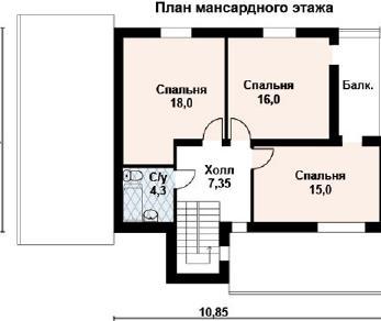 Проект дома AS-2117, 176 м2