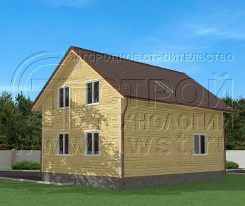 Проект дома Проект дома №136, 89 м2