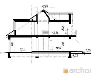 Проект  Дом в клематисах 10, 233.4 м2