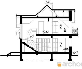Проект  Дом в солодках 3, 153.8 м2