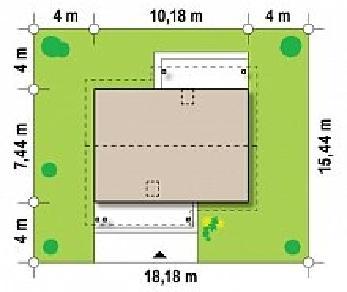 Проект дома Проект Z210, 111.5 м2