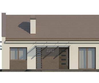 Проект дома Проект Z252, 78 м2