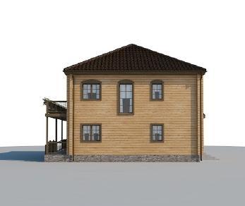 Проект дома AS-2028-2, 182 м2