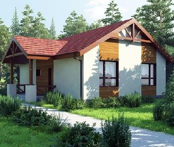 Проект дома AS-2033, 77 м2