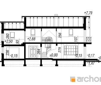Проект  Дом в самшитах (Г), 160 м2