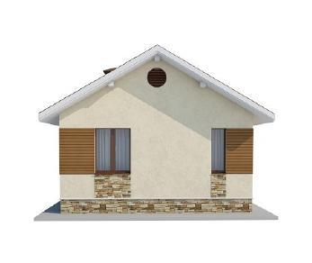 Проект дома AS-2142, 34 м2