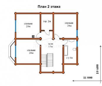 Проект  проект Д-213, 210.54 м2