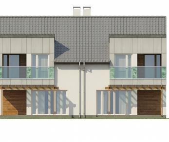 Проект дома Проект Zb7, 117.6 м2