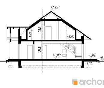 Проект  Дом под красной рябиной 2, 159.4 м2