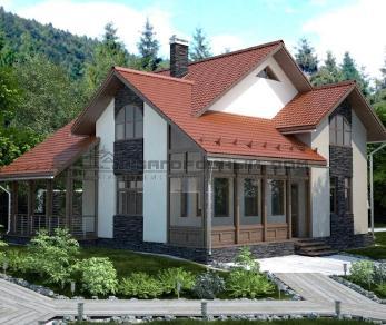 Проект дома Марфино, 156 м2