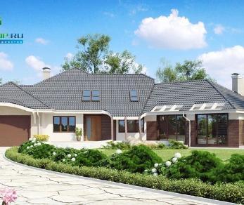 Проект дома Проект zr5, 466 м2