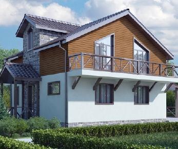 Проект дома AS-2020, 156 м2