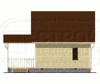 Проект дома Проект дома №36, 54 м2