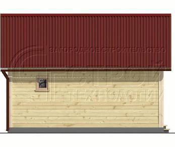Проект бани Баня. Проект №2, 30 м2