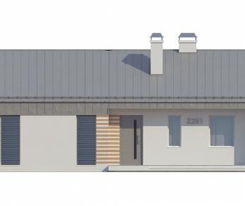 Проект дома Проект Z251, 97.1 м2